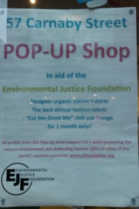 About the POP-UP Shop